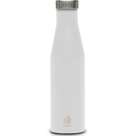 MIZU S6 Insulated Bottle with Stainless Steel Cap 600ml enduro white